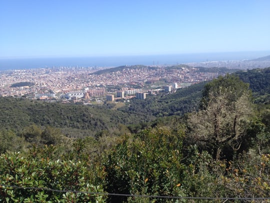 Beautiful National Park in Barcelona