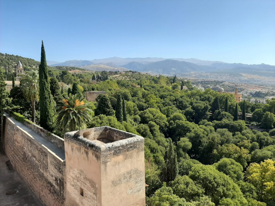 Views from the Watch Tower, Alcazaba.